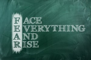 Fear acronym positive